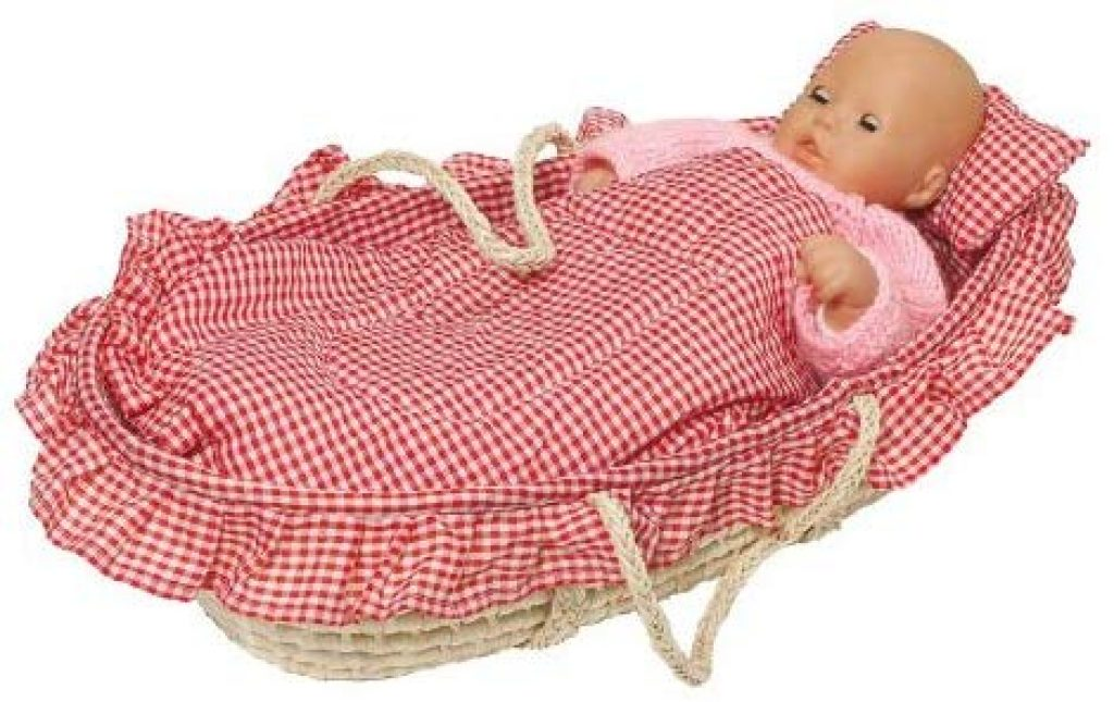 Dieses Puppenbett Goki lässt sich leicht transportieren.