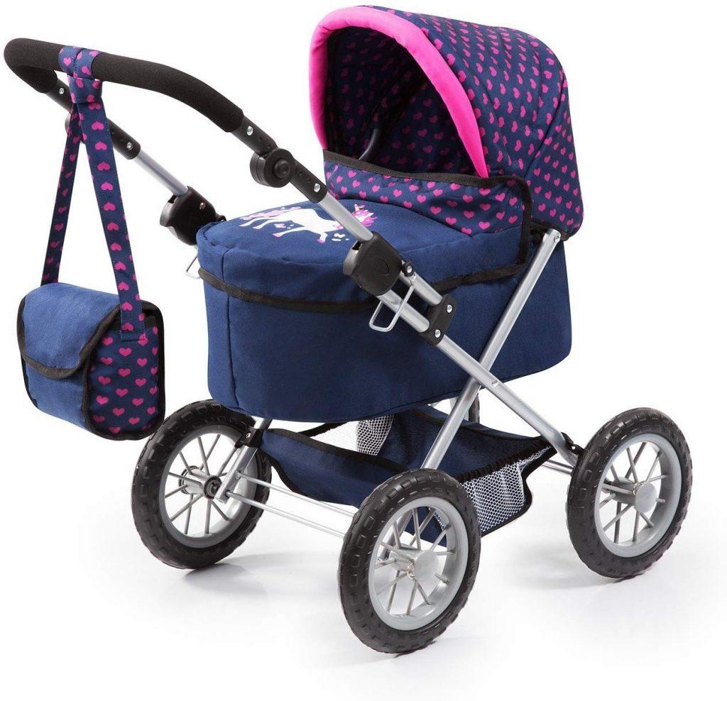 Der Bayer Design Puppenwagen ist in verschiedenen Farben erhältlich.