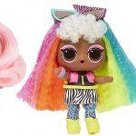 LOL Surprise Haar Ziele Puppen haben schöne Haare.