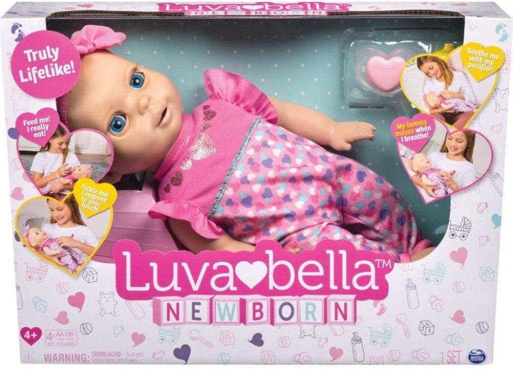 Luvabella ist eine interaktive Puppe mit vielfältigen Ausdrucksmöglichkeiten.