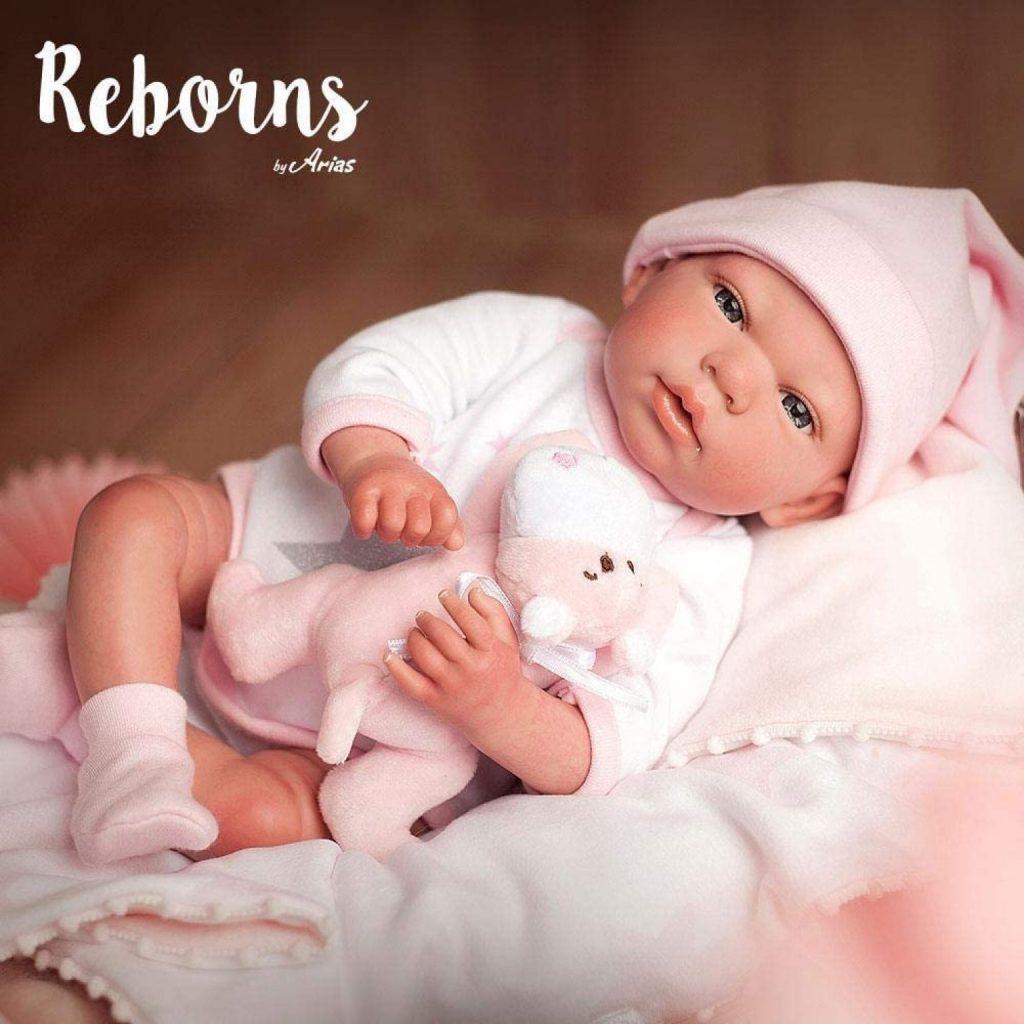 Das reborn Baby Gala hat ein Engelsgesicht.