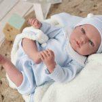 Dieses reborn Baby wird Tiago genannt.